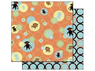Best Creation Paper 12x12 Safari Boy Baby Dots (25 sheets)