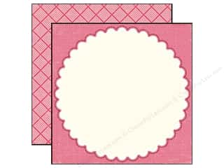 Echo Park Paper 12x12 Little Girl Danielle Doily (25 sheets)