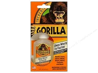 wood glue: Gorilla Glue Fast Cure 2oz