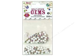 Darice Self Stick Gems 5mm Clear AB 100pc