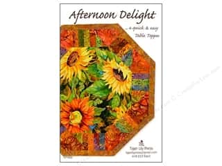 Straight Stitch Fat Quarters Patterns: Tiger Lily Press Afternoon Delight Pattern