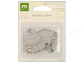 Sequins Making Memories Embellishments: Making Memories Charms With Love Wedding Gem Cake