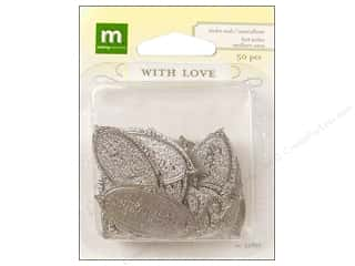 Making Memories WL Wedding Seal Oval Best Wish Slv