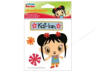 Nickelodeon Nickelodeon Sticker: Nickelodeon Sticker Embroidered Ni Hao Kai Lan