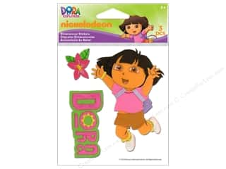 Nickelodeon Sticker Embroidered Dora