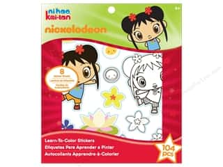 Nickelodeon Sticker Learn-To-Color Ni Hao Kai Lan