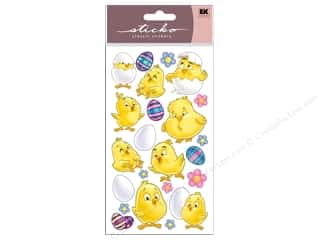Spring Paper: EK Sticko Stickers Spring Chicks