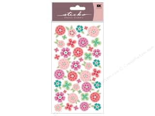 sticker: EK Sticko Stickers Flower Tropics