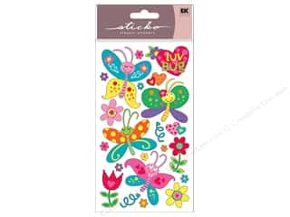 Insects EK Sticko Stickers: EK Sticko Stickers Love Bug