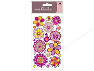 Clearance Stickers $0-$2: EK Sticko Stickers Flower Fun