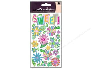 EK Sticko Sticker Sweet Flower