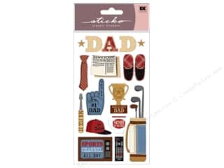 2013 Crafties - Best Adhesive: EK Sticko Stickers Happy Father's Day