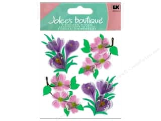Jolee's Boutique Stickers Dogwood And Crocus Flowers