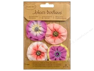 Jolee's Boutique Stickers Parcel Pinwheel Flowers