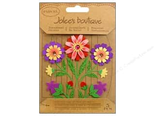 Jolee's Boutique Stickers Parcel Folk Flowers