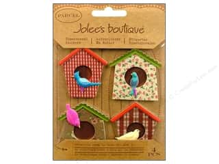 Jolee's Boutique Stickers Parcel Bird Houses