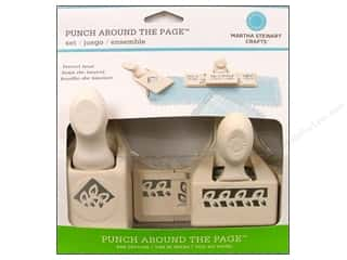 Weekly Specials Crate Paper: Martha Stewart Punch Around/Page Laurel Leaf