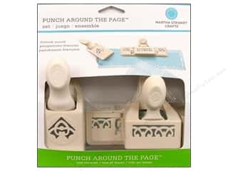 Martha Stewart Punch Around The Page Set French Scroll