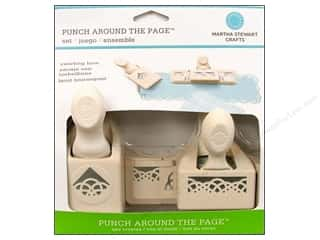 Punches Martha Stewart Punches: Martha Stewart Punch Around The Page Set Swirling Lace