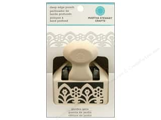 punch: Martha Stewart Deep Double Edger Punch Garden Gate