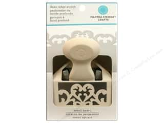 Martha Stewart Punch Deep Edge Scroll Heart