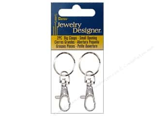 darice jewelry: Darice JD Clasps Big Swivel Silver 2pc