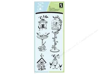 bird stamp: Inkadinkado Clear Stamp For The Birds