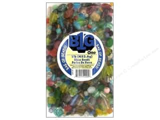 Darice Beads Glass Beads Assorted 1lb