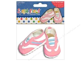 "Fibre-Craft Doll Clothes Sprgfld 18"" Shoes Sports"