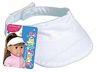 "Fibre-Craft Doll Clothes Sprgfld 18"" Visor"