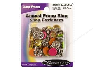Snapsource Snap Capped Prong Ring Sz16 Bight