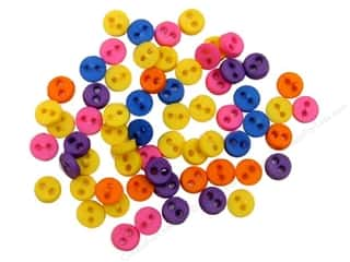 Jesse James Buttons Basic Components: Jesse James Dress It Up Embellishments Micro-Minis Color Storm