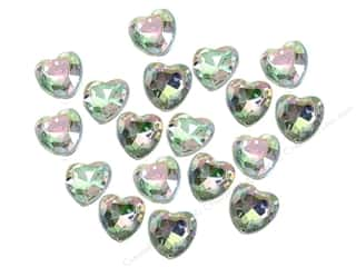 Rhinestones: Jesse James Embellishments Facet Cut Hearts Crystal
