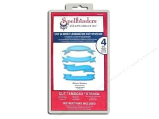 Spellbinders Shapeabilities Die Ribbon Banners