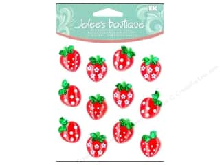 Fruit & Vegetables Back To School: Jolee's Boutique Cabochons Strawberry