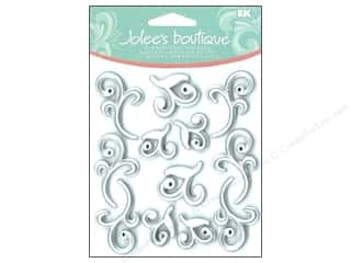 Jolee's Boutique Cabochons Silver Flourishes