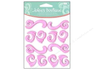 Jolee's Boutique Cabochons Pink Flourishes