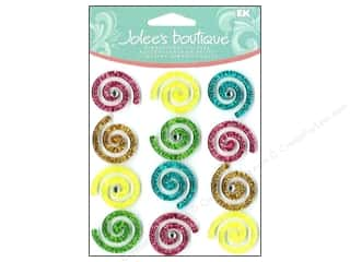 EK Success Dimensional Stickers: Jolee's Boutique Cabochons Swirls