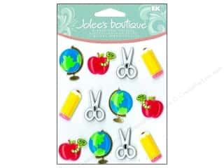 2014 Crafties - Best Scrapbooking Supply: Jolee's Boutique Cabochons School Supplies