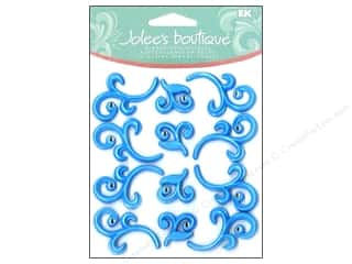 Baby Blue: Jolee's Boutique Cabochons Baby Blue Flourishes