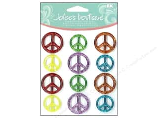 Jolee's Boutique Cabochons Peace Signs
