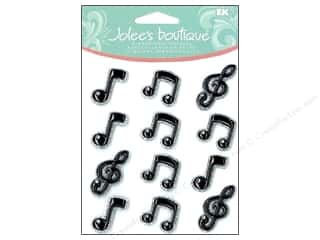 Music & Instruments Stickers: Jolee's Boutique Cabochons Music Notes