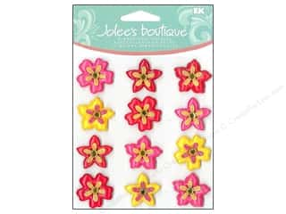 Jolee's Boutique Cabochons Tropical Flowers