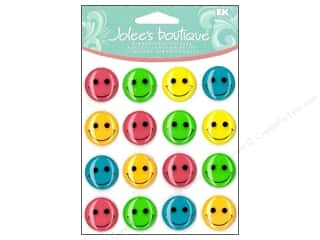 Jolee's Boutique Cabochons Bright Smiley Face