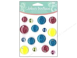 Jolee's Boutique Cabochons Multi Color Dots