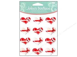 Jolee's Boutique Cabochons Bow Tied Hearts