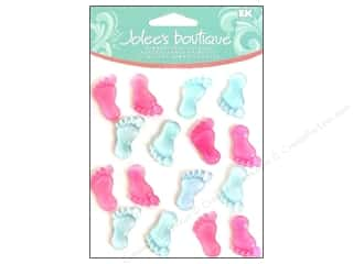 Jolee's Boutique Cabochons Baby Footprints