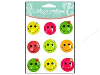 Jolee's Boutique Cabochons Smiley Faces