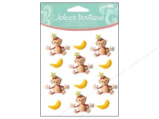 Jolee's Boutique Cabochons Monkeys