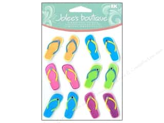 Beach & Nautical EK Jolee's Boutique: Jolee's Boutique Cabochons Flip Flops